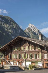 Simmental Chalet Gstaad Saanen